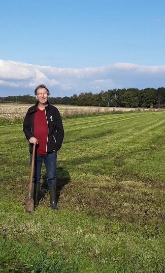 Henk Boer, boer van Herenboerderij Hof van Rhee