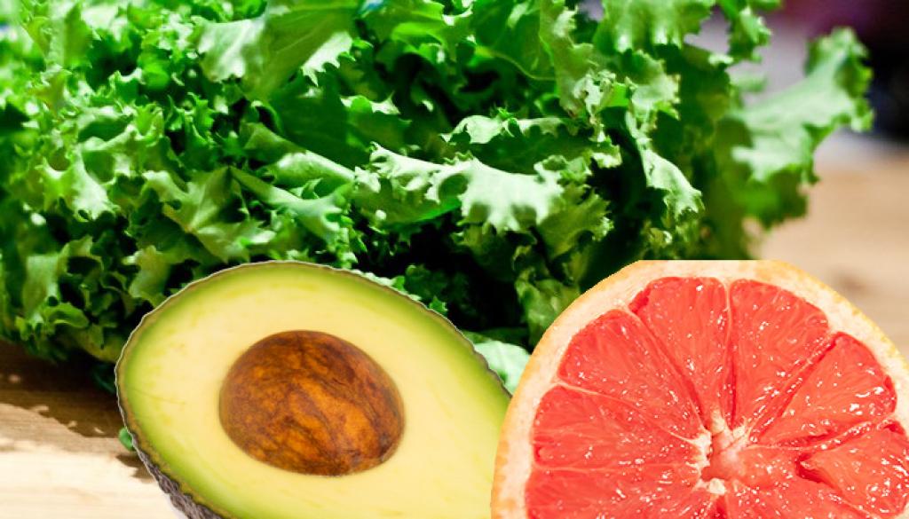 andijvie avocado grapefruit recept