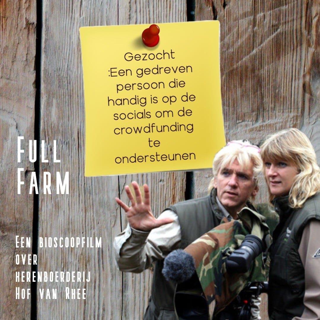 Oproep bijstaan Full Farm Film