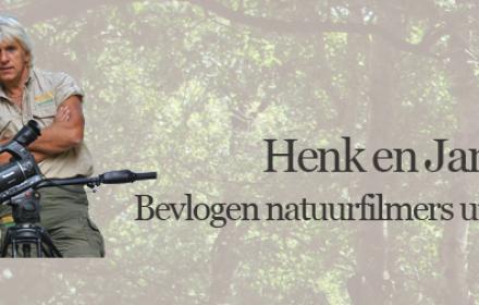 Filmers echtpaar Henk en Janetta Bos